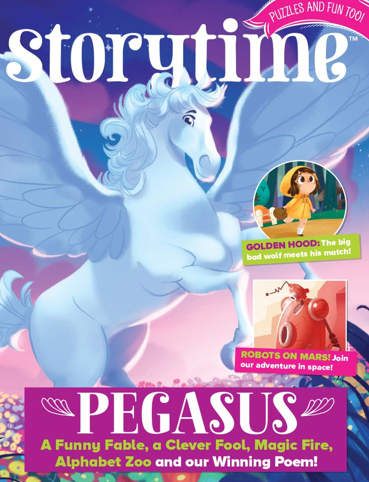 Storytime Issue 32 is here with a magical flying Pegasus on the cover! Find out more about it here: http://www.storytimemagazine.com/news/making-storytime/storytime-issue-32-is-out-now/