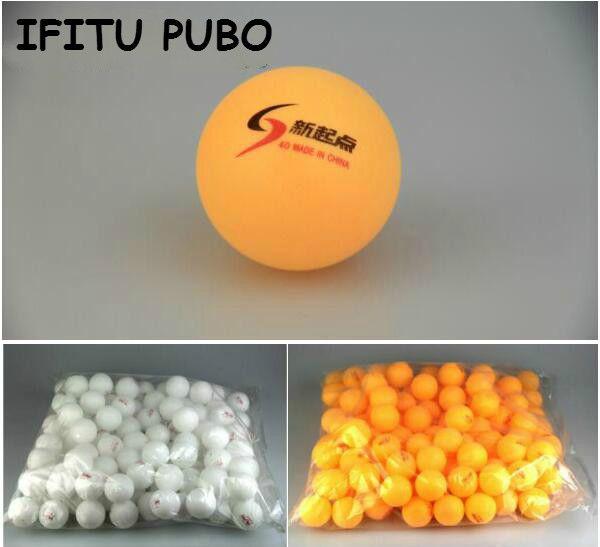 New 20 Pcs/lot Tennis White Orange Ping Pong Balls 4cm Orange Table Tennis Balls for beginners training Free shipping