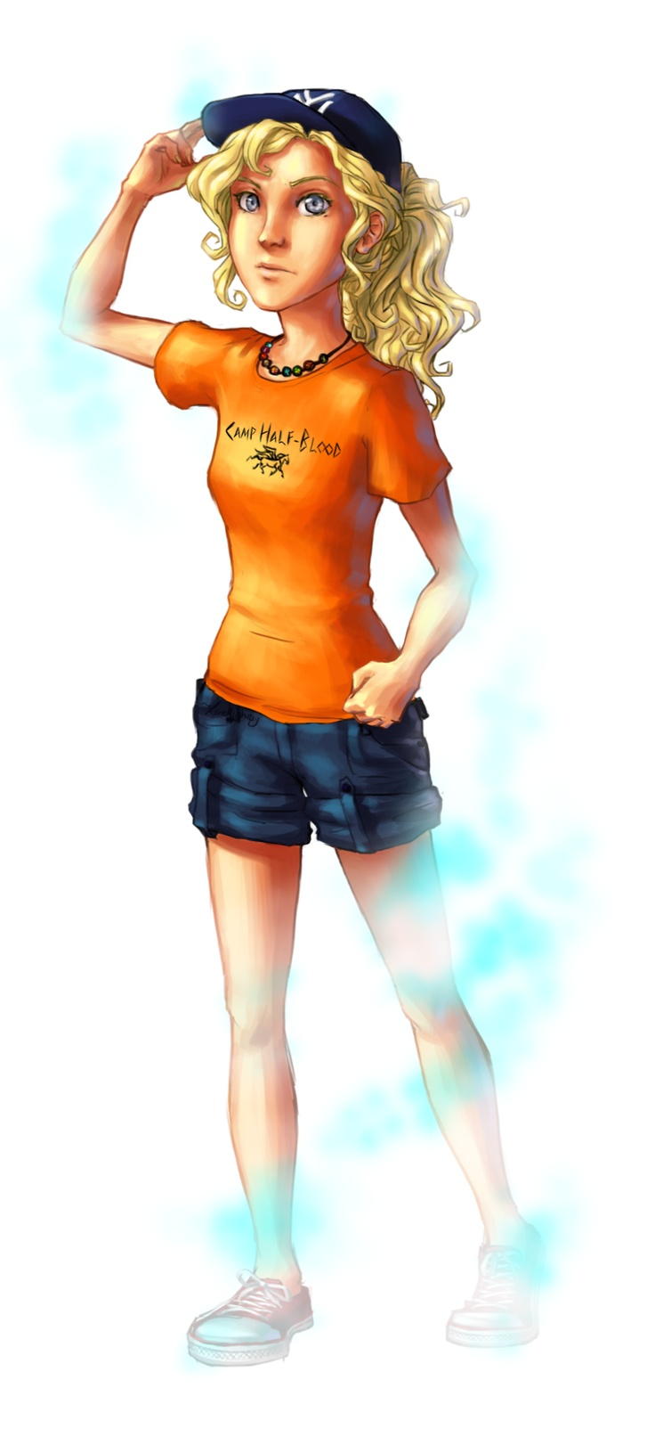 Annabeth Chase becoming invisible
