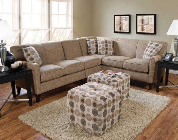 Small sectional couch has been an important interior in the most of house's living room. Having a sectional couch is important for a family who has a large