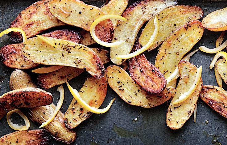 ... roasted fingerling potatoes crispy potatoes lemon potatoes preserved