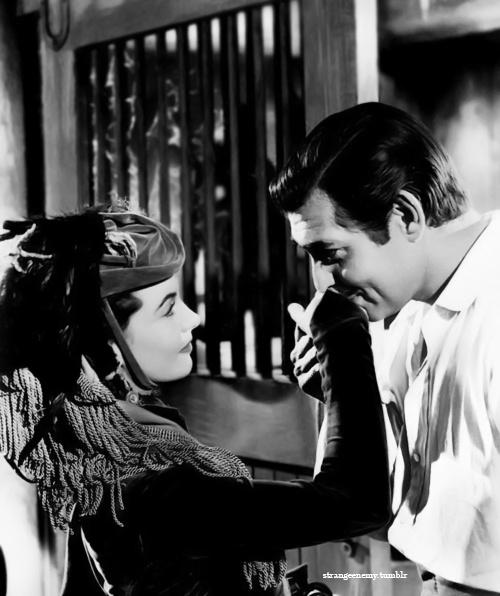 Vivien Leigh and Clark Gable <3