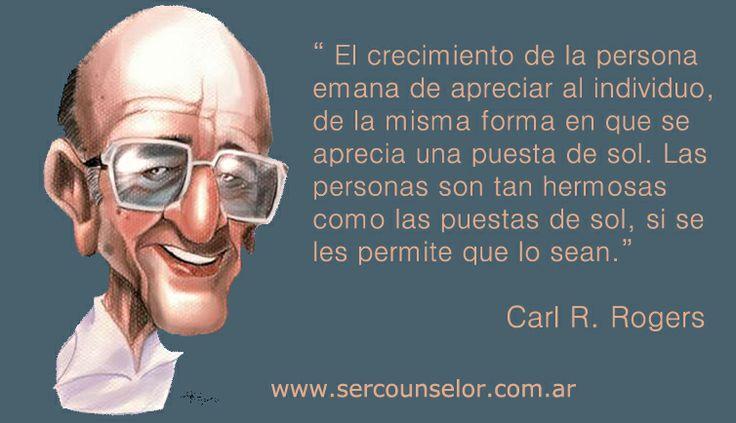 Frase de Carl Rogers