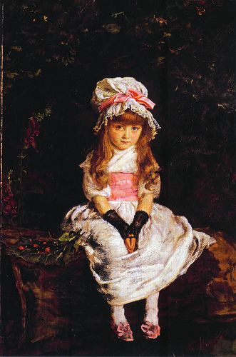 Famous Victorian Paintings   ... introduction to Millais paintings of children 1870-96 in Victorianism
