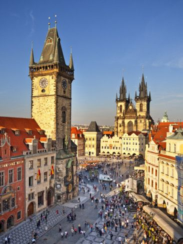 Prague Old Town Square, Czech Republic, by Francesco Iacobelli