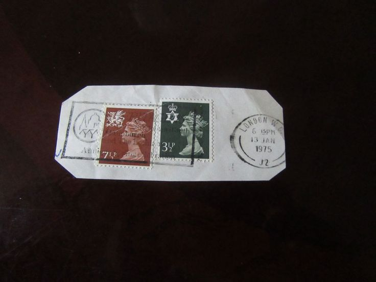 British Stamps Lot of 2 pcs Stamps
