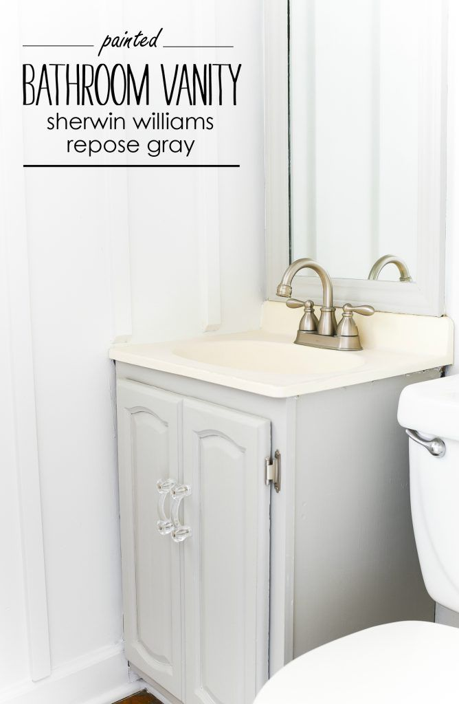 Gray Painted Bathroom Vanity Blogs Featuring D Lawless