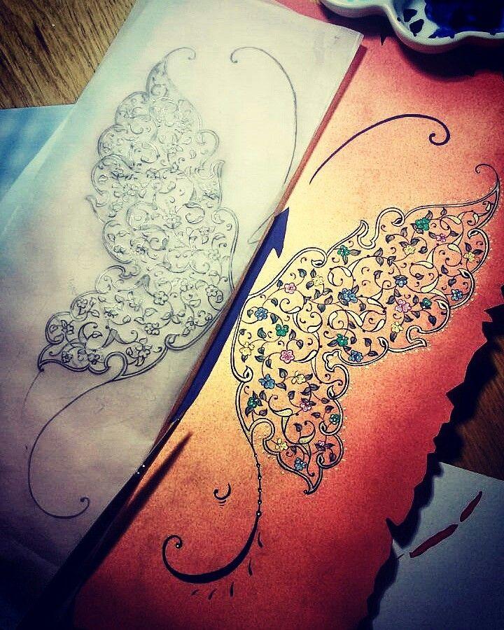 #kelebek #butterfly #tezhip