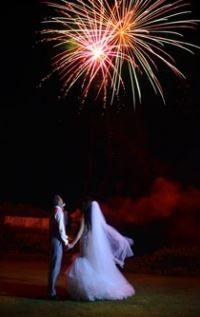 FIRE WORKS!  Husband and Wife  The Ritual - Uluwatu