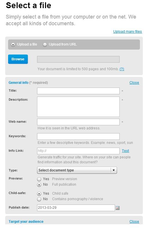 Un magazine virtuel à partir de vos documents bureautiques