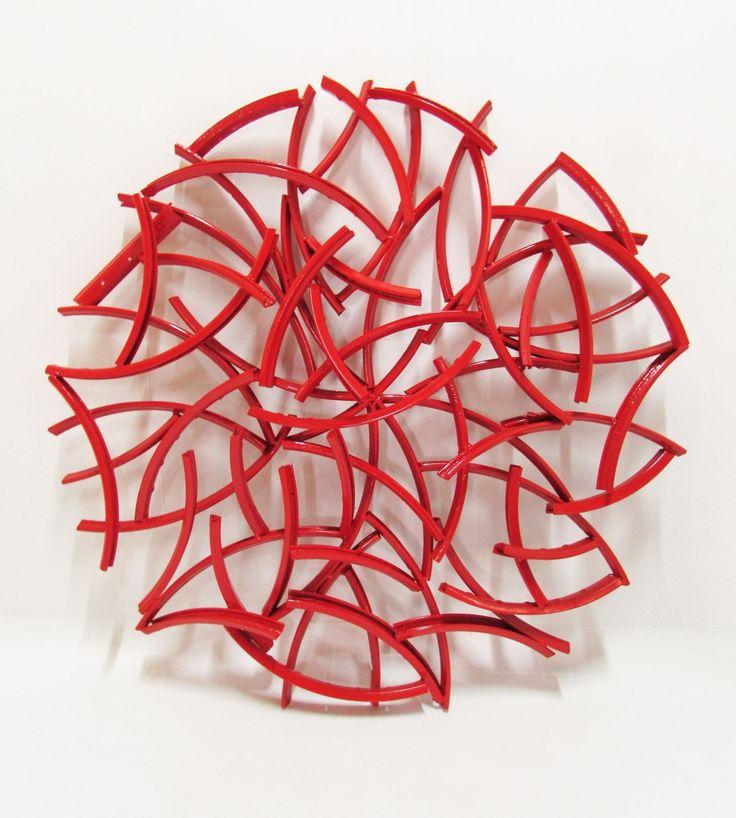 Die besten 25+ Wanddekoration metall Ideen auf Pinterest Zen - wohnzimmerwand rot