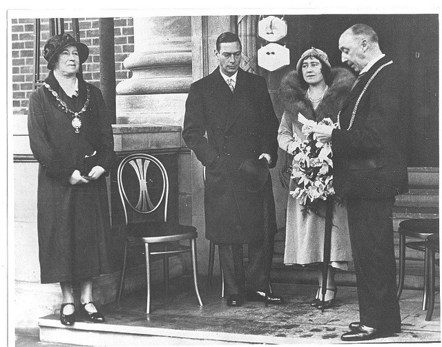 Duke and Duchess of York (King George VI) opening Avenue Campus 1932 (NCT-4-001-1) by University of Northampton Archive, via Flickr