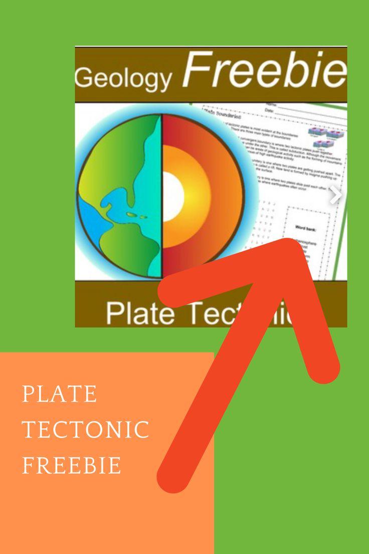 Plate Tectonic Freebie Plate Tectonics Plate Boundaries Mini Booklet [ 1104 x 736 Pixel ]
