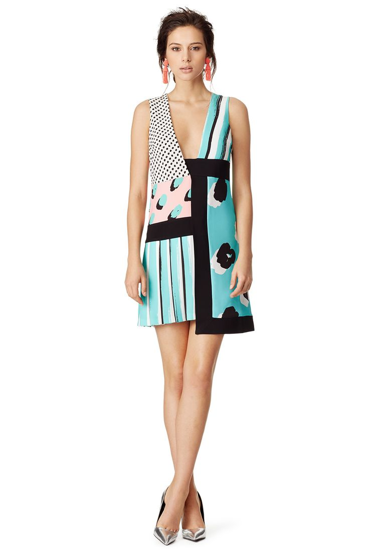 Graphic, fun and flirty sheath //MARCO BOLOGNA Lily Dress