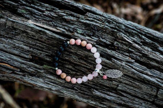 LOVE  Aromatherapy Gemstone Diffuser Bracelet by KARHIcollection