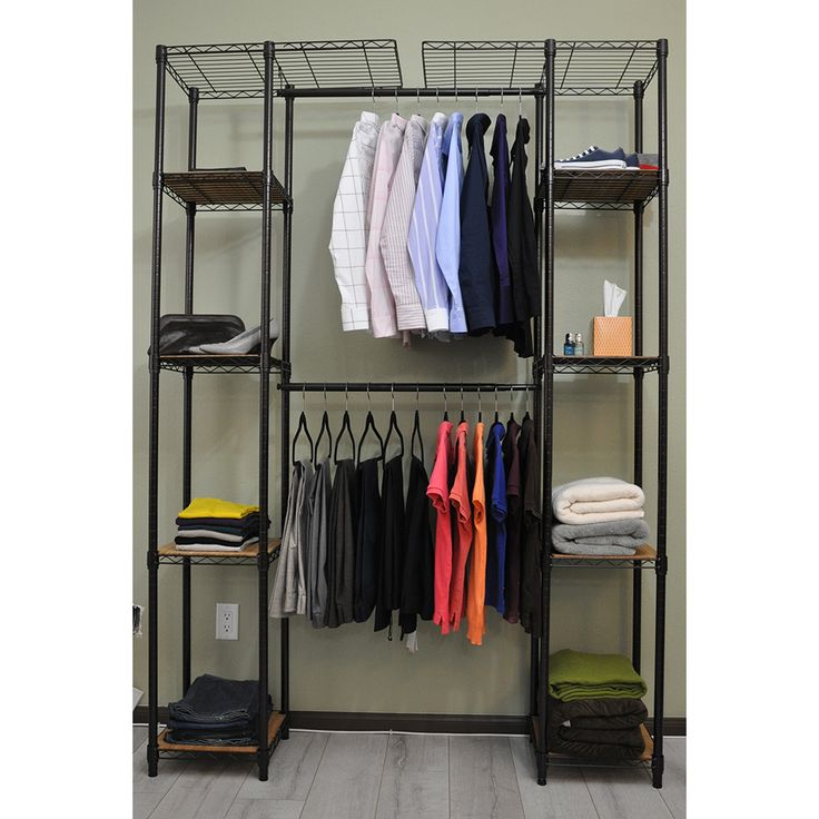 33 best the murphy door images on pinterest bookshelf No closet hanging solutions
