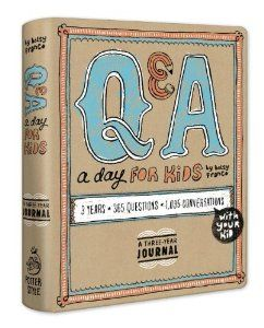 Amazon.com: Q & A a Day for Kids: A Three-Year Journal (9780307952967): Betsy Franco: Books