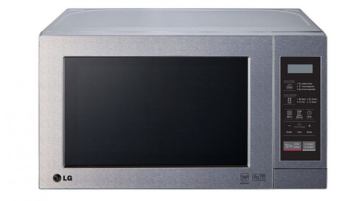 LG 20L Microwave Oven - Stainless Steel