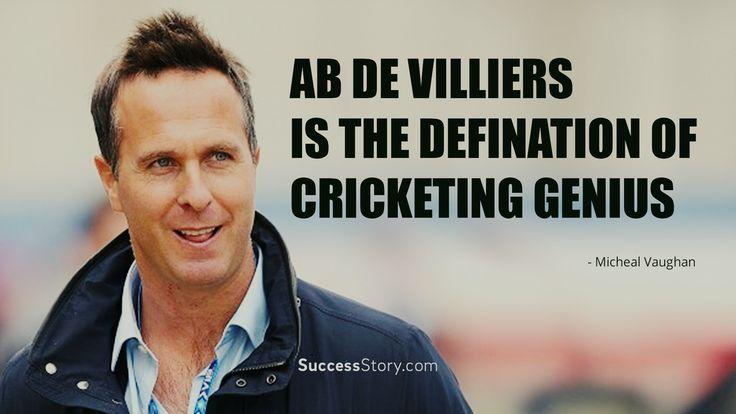"""""""Ab De Villiers Is The Defination Of Cricketing Genius"""""""