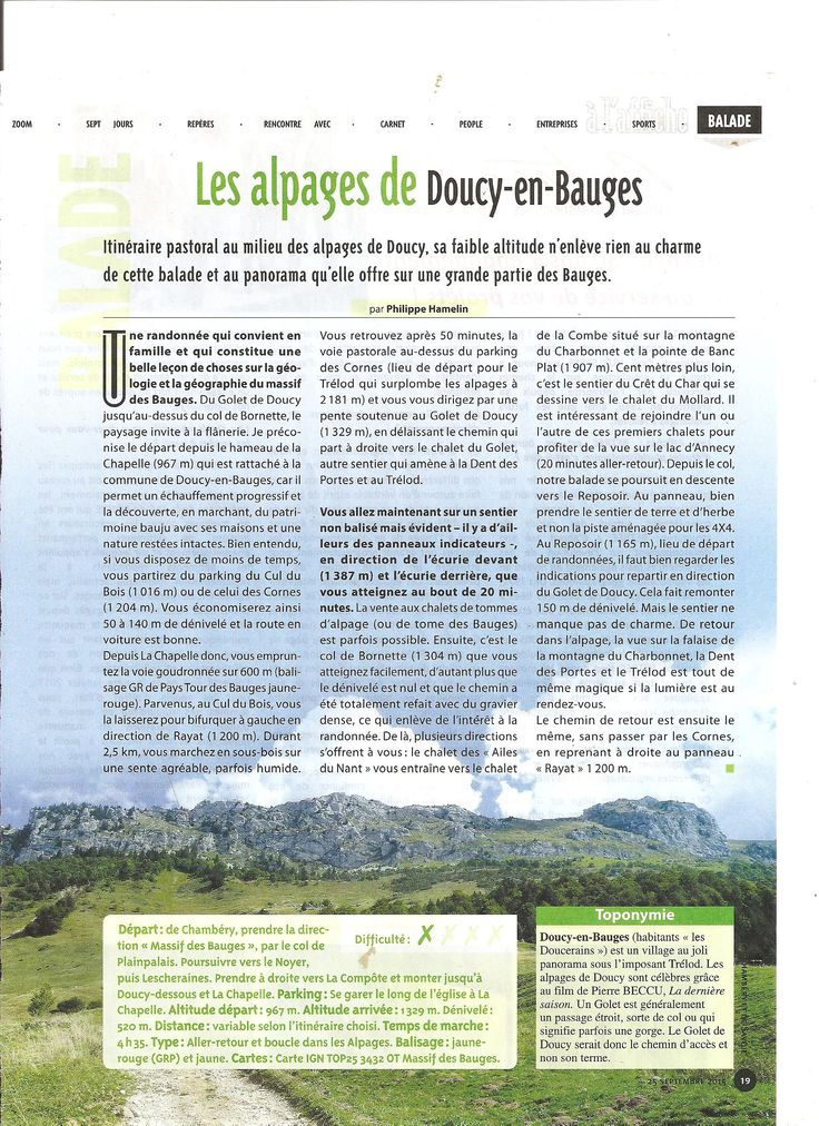 alpages de doucy-en-bauges balade à 1h