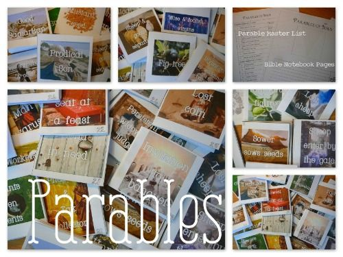 FREE Parables Lapbook