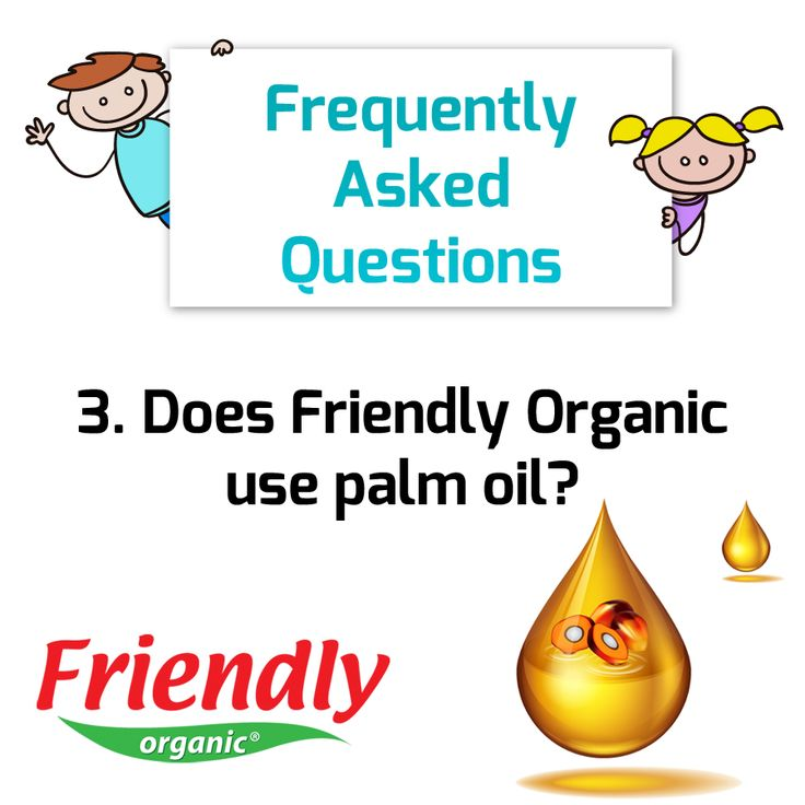Answer: No.  We do not use palm oil, as most palm oil is from areas that have high level of deforestation- meaning industry is cutting down our precious rainforests to plant palm trees.  The coconut oil that we use comes from sustainable farms that grow coconuts in their indigenous areas, such as Thailand and the Philippines.  These farms are not responsible for deforestation!