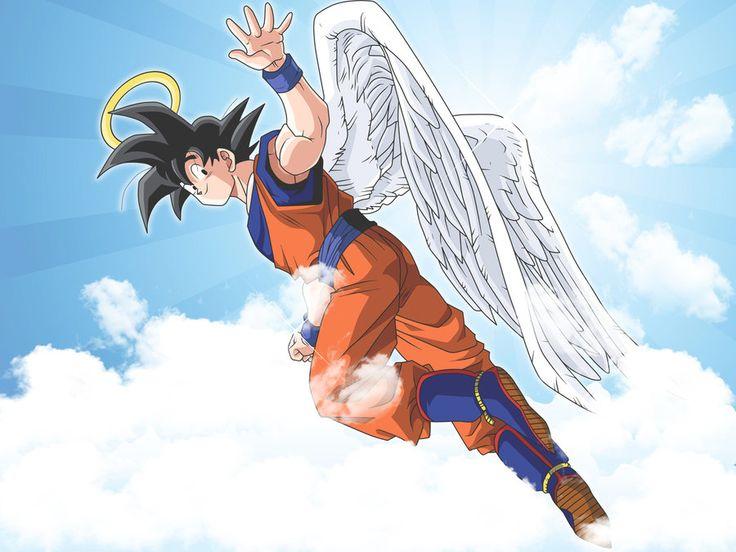 Goku Angel Wallpaper by Link-LeoB.deviantart.com on @deviantART