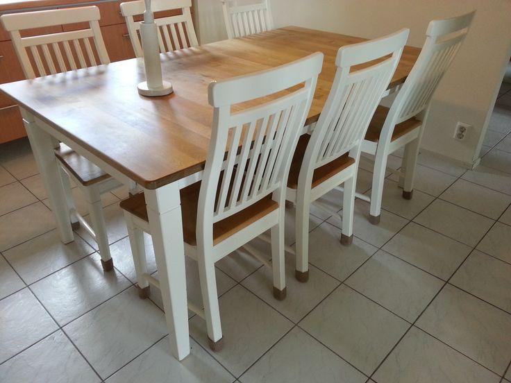 Sukat tuolin jaloissa Ajaa hyvin huopatassujen asian, mutta on paljon kestävämpi, pestävämpi ja muutenkin parempi.