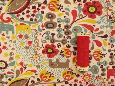 organic cotton jersey dress fabric