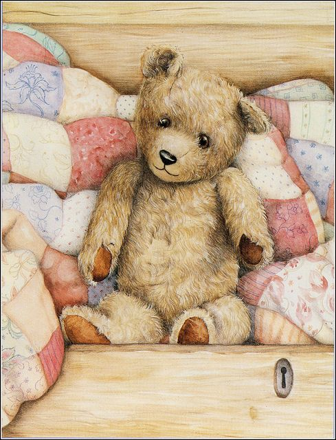 Teddy in the drawer by sue-tarr, via Flickr