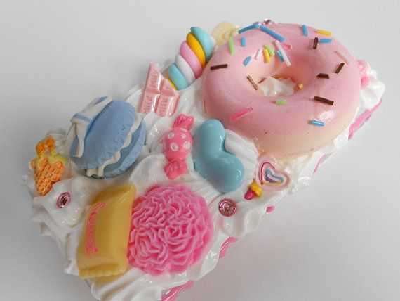 Decoden Pink Squishy Doughnut iPhone 4/4S Case by SweetsForASweet, $35.00
