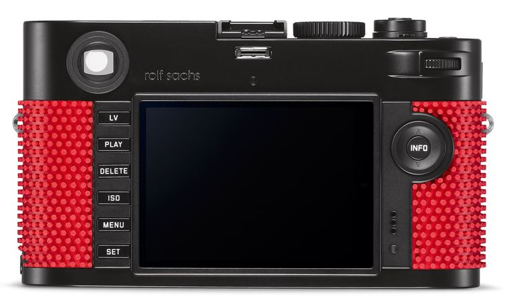 Rolf Sachs covers Leica camera in ping-pong rubber
