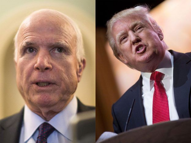 United States Senator John McCain urges President Donald Trump to publicize the evidence backing up his claim that the previous Obama administration had wiretapped him while investigating the influence of Russia in the recently concluded 2016 National Election.