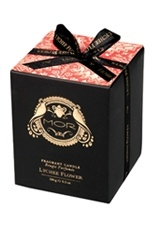 <3 MORS EMPORIUM BLACK COLLECTION LYCHEE FLOWER SCENTED CANDLE 184G / 6.5 OZ