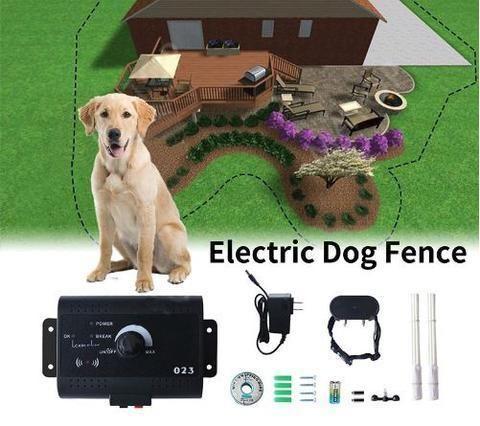 Invisible Electric Dog Fence Dog Fence Dog Training Collar
