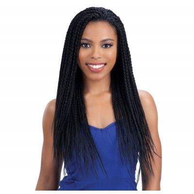 Model Model Lace Front Wig BOX BRAID (Invisible Lace Braid Wig)