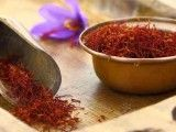 Saffron is not only a spice used in food, it also has benefits for your skin. (I was actually thinking about putting some in my rosewater toner... I guess I wasn't too far off).