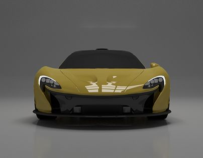 "Check out new work on my @Behance portfolio: ""McLaren P1 