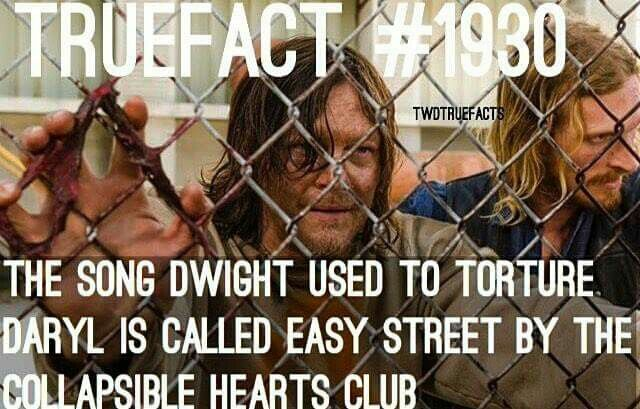 """The Walking Dead, season 7, episode 3 'The Cell'<< """"it's called easy street"""" really I didn't notice"""
