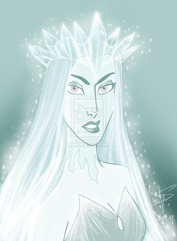рисунок снежная королева на троне глушитель резонатор для