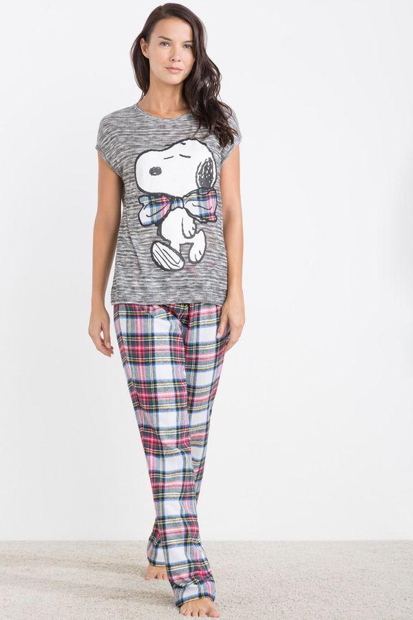 Womensecret Pijama manga corta Snoopy estampado