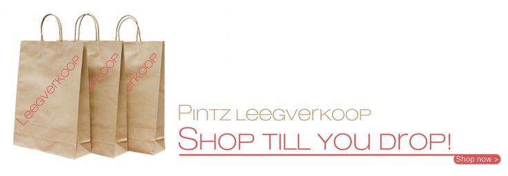 Omslag ontwerp voor Pintz webshop door @muisstijl www.muisstijl.nl