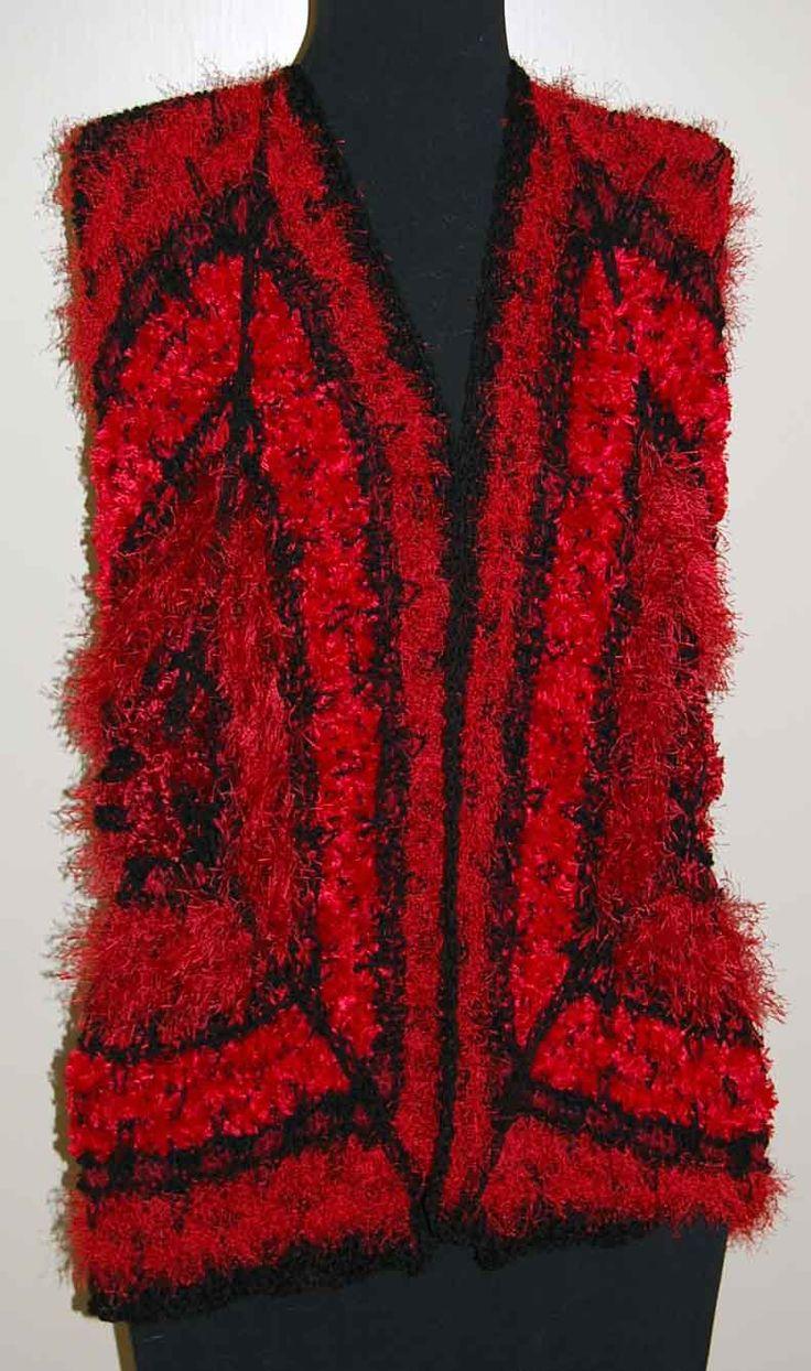 Red Black coat