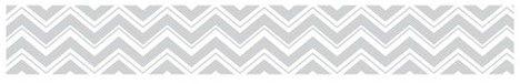 Sweet Jojo Designs White & Gray Zig Zag Wall Border - Sweet Jojo Designs®