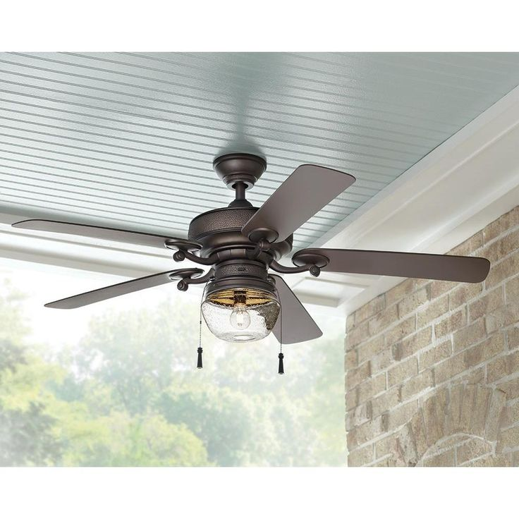 home decorators collection bromley 52 in led bronze ceiling fan