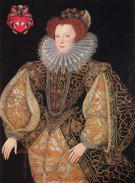 Lettice Knollys, Countess of Essex (1543–1634).