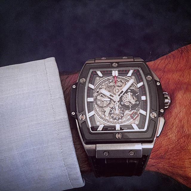 Hublot spirit of big bang chrono titanio ceramica #finejewellery #party #faboulous #watches #personalshopper #vintage #wristwatch #world #hotel #roma #luxurywatches #viafrattina #vogue #orologi #anelli #fashion #trendy #elegante #sport #ferrari