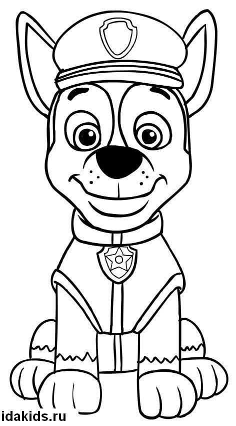 картинки щенячьего патруля карандашом общем, удите сами