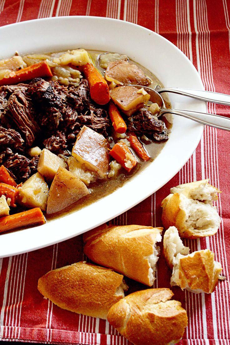her Grandmother's recipe for pot roast. It's fantastic! insockmonkeyslippers.com #recipes