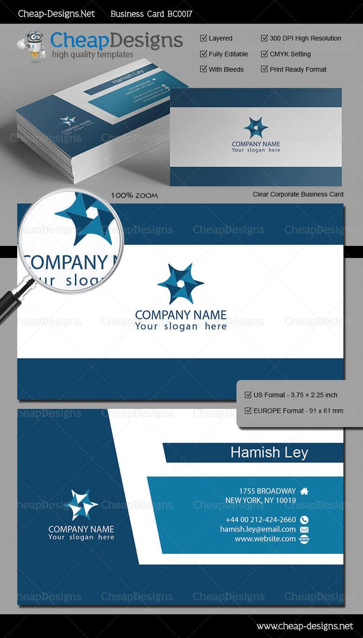 20 best great business card templates images on pinterest clear corporate business card template choose this template from our library then purchase and magicingreecefo Gallery